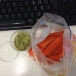 guac-carrots