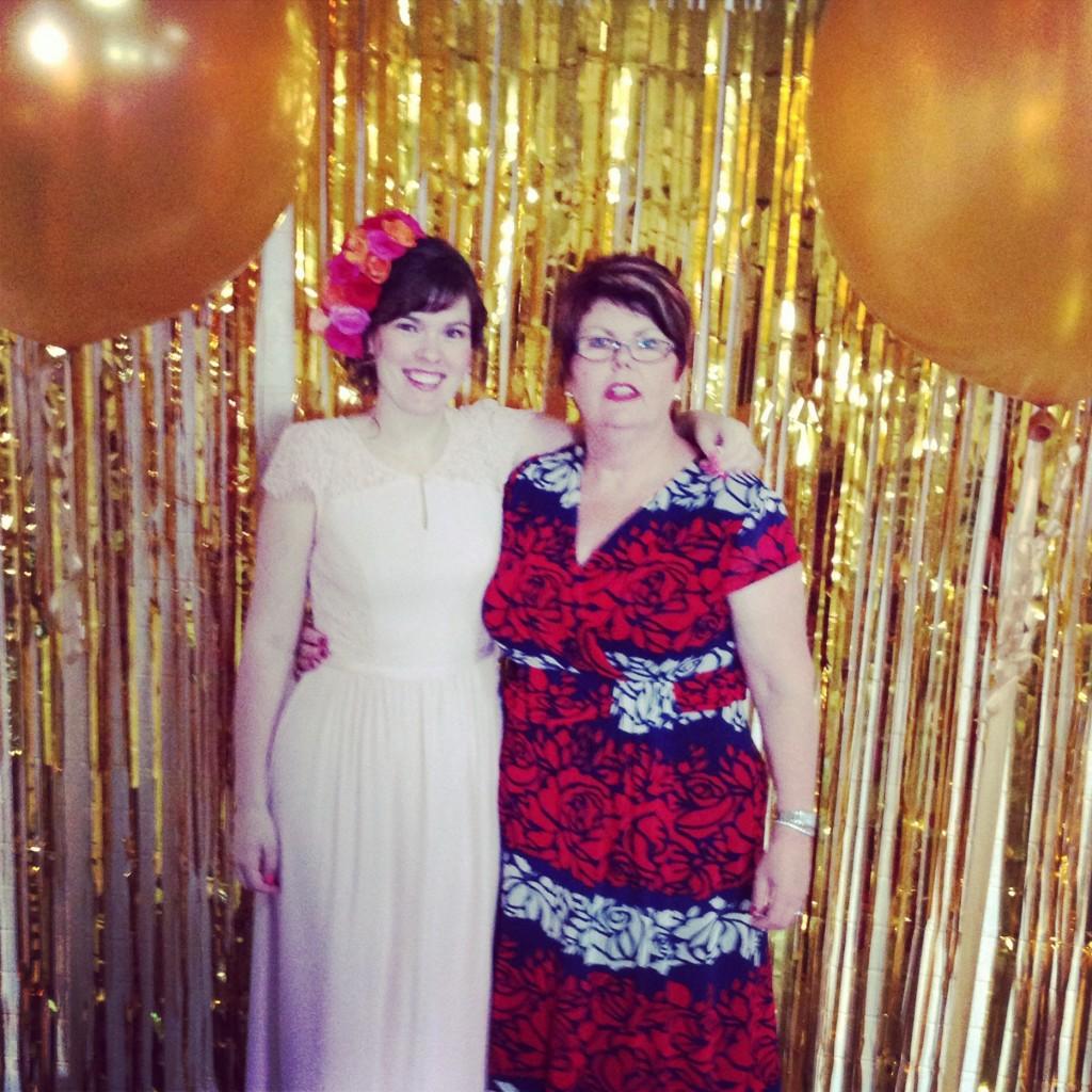 Stunning bride-to-be Lee & her proud mum