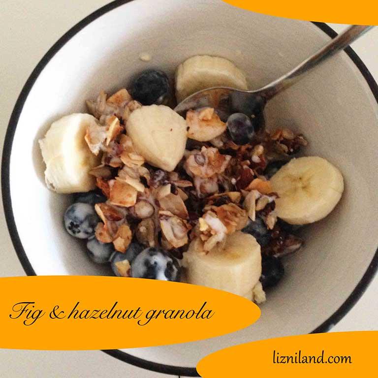 Fig & hazelnut granola - Grain-free & paleo