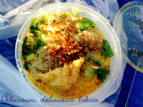 Mindil Beach Markets laksa
