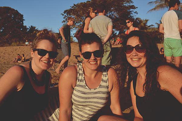 Friends at Mindil Beach