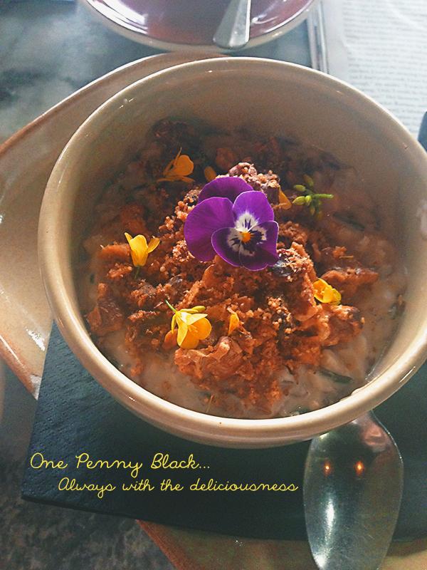 One Penny Black's vegan rice porridge | Week of Eats: Winter breakfasts | lizniland.com