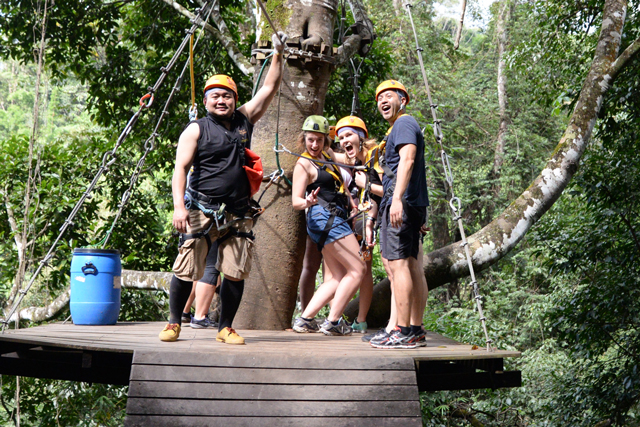 Flight of the Gibbon - Sky Ranger Woody | When in Chiang Mai: Elephants & Ziplining | lizniland.com
