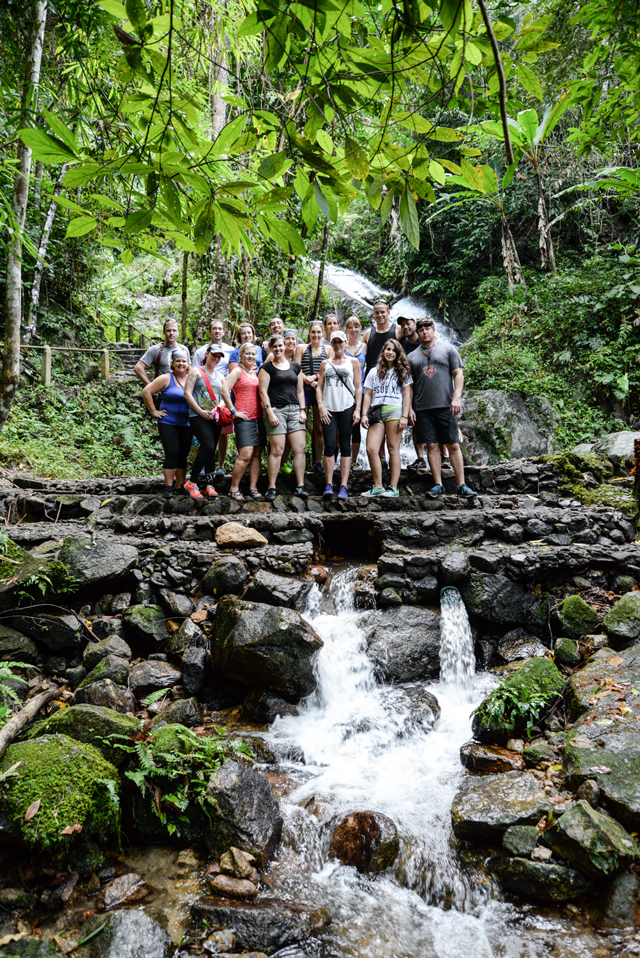 Thailand Culinary Adventure team 2014 | When in Chiang Mai: Elephants & Ziplining | lizniland.com