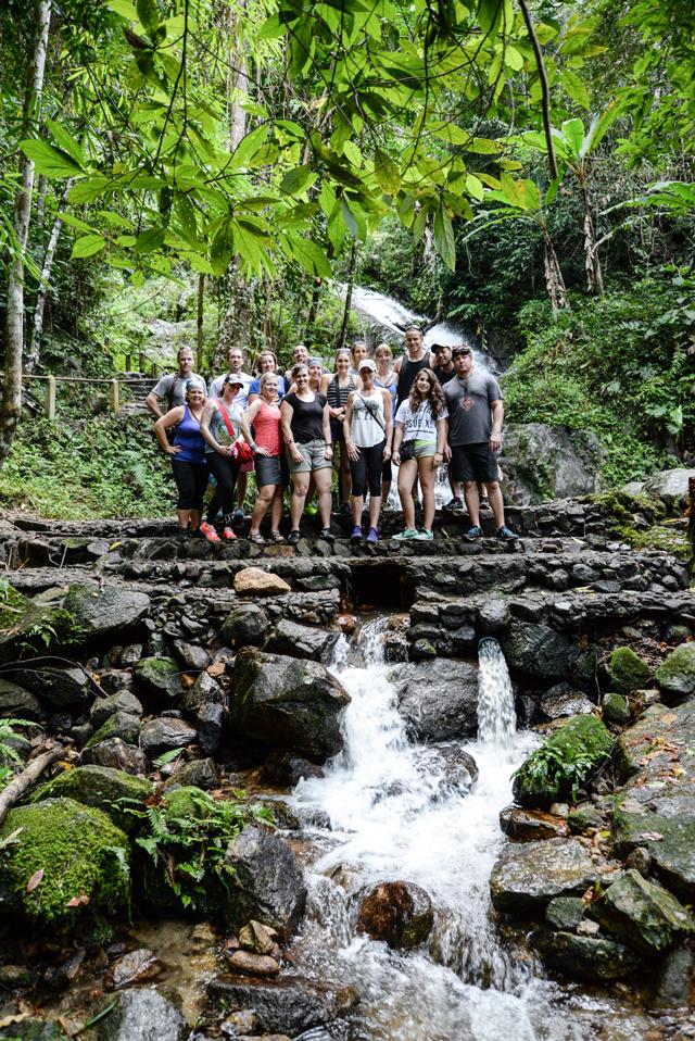 Thailand Culinary Adventure team 2014 | When in Chiang Mai: Elephants & Ziplining | lizniland.com