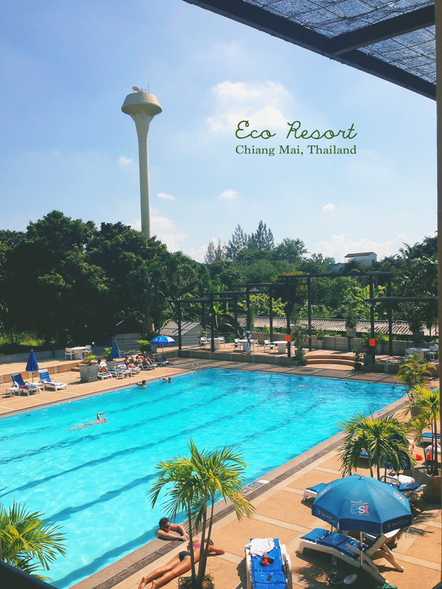 Eco Resort Chiang Mai pool | Chiang Mai: Culinary Adventures | lizniland.com