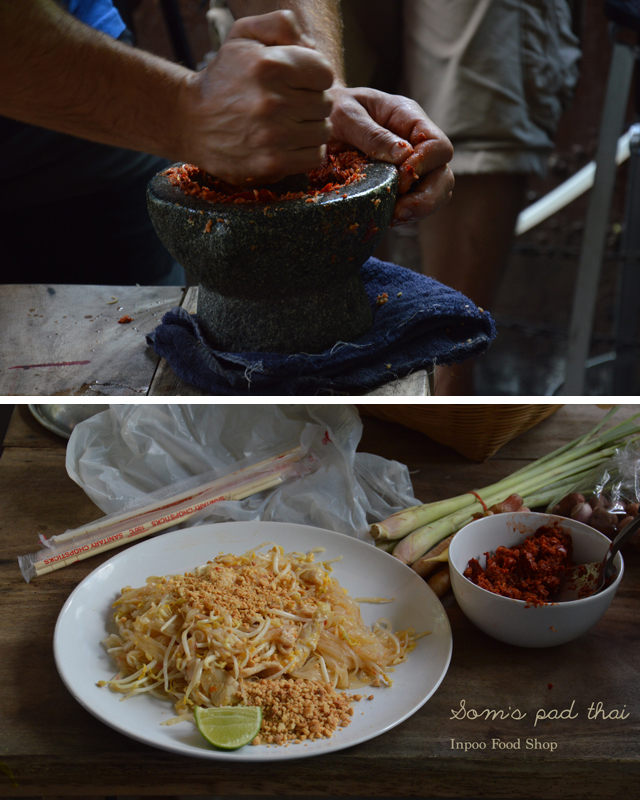 Som's pad thai | When in Chiang Mai: Cooking classes | lizniland.com