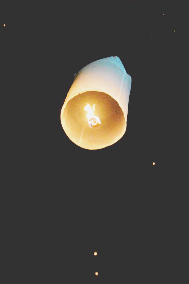 Lantern | When in Chiang Mai: Yi Peng Lantern Festival | lizniland.com