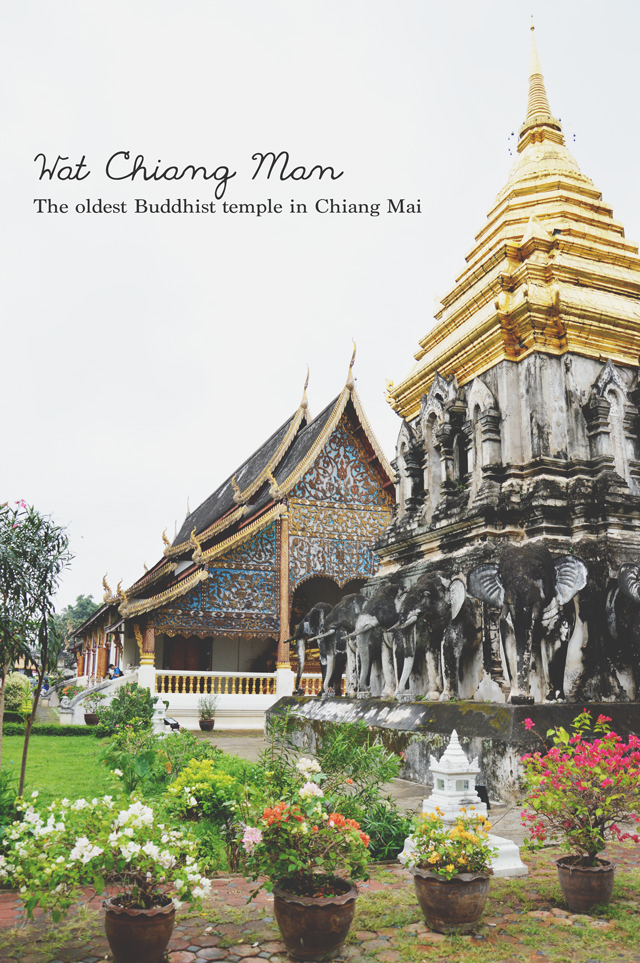 Wat Chiang Man | When in Chiang Mai: Exploring the city | lizniland.com
