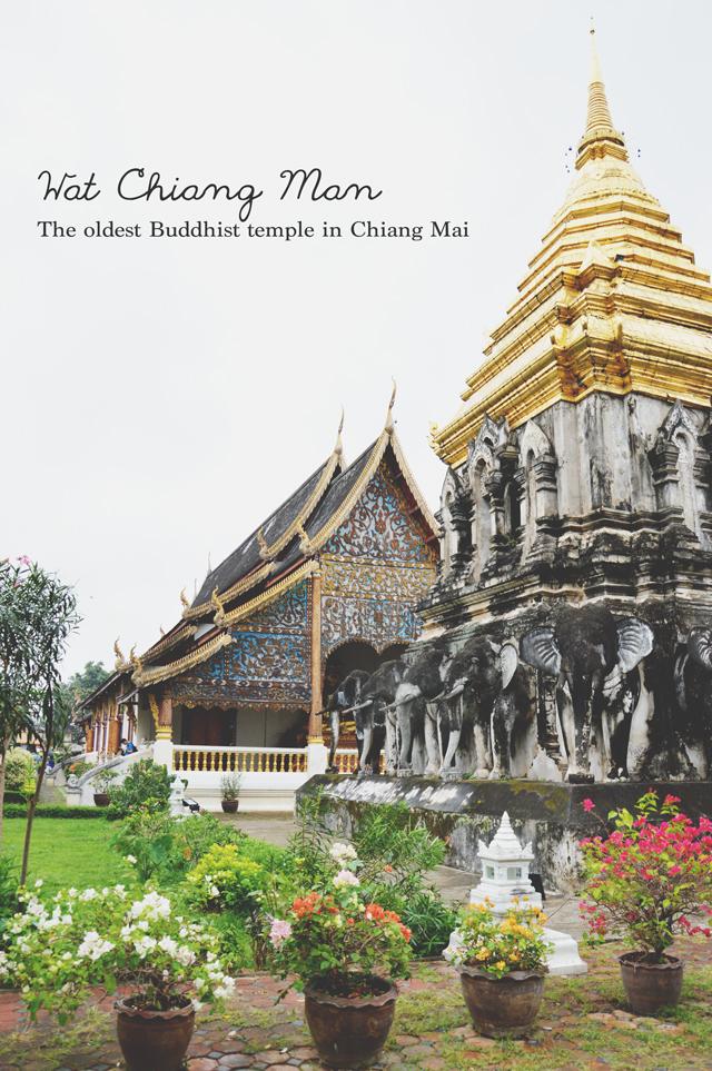 Wat Chiang Man | When in Chiang Mai: Exploring the city | lizniland.com
