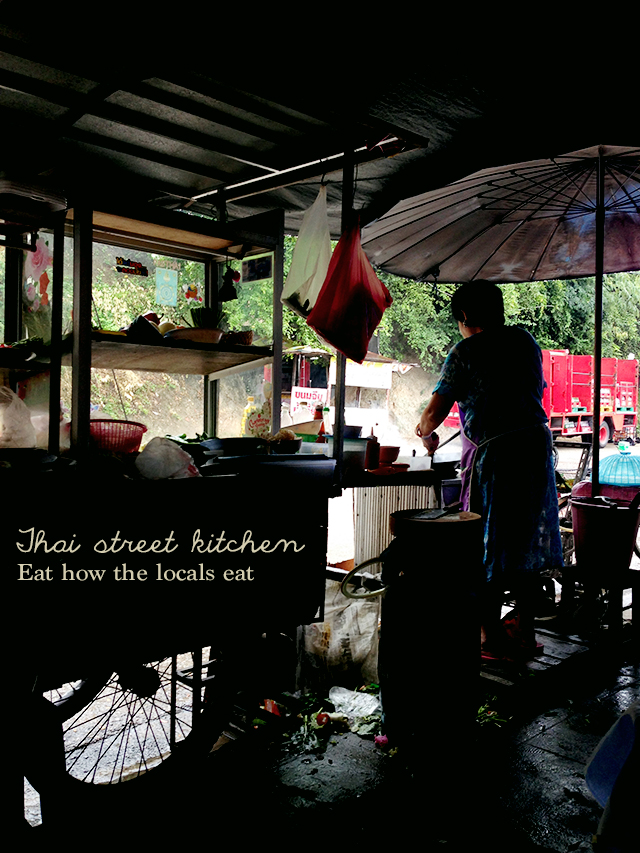 Street kitchen | Week of Eats: Chiang Mai edition | lizniland.com