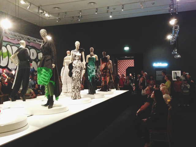 The catwalk |  Jean Paul Gaultier @ NGV | lizniland.com