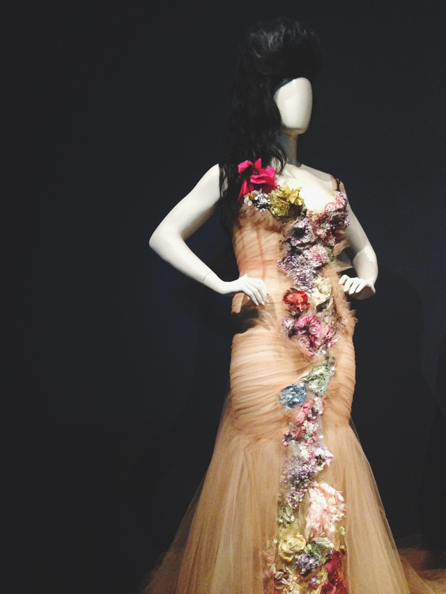 Crystal Renn's 2006 dress  |  Jean Paul Gaultier @ NGV | lizniland.com