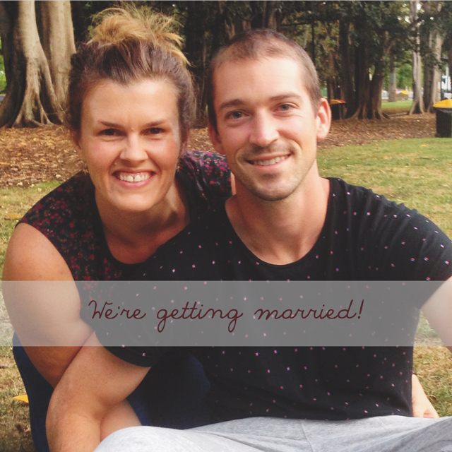 We're getting married | lizniland.com