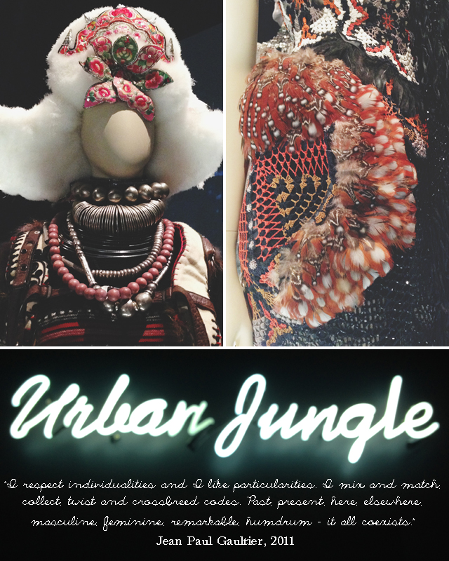 Urban Jungle |  Jean Paul Gaultier @ NGV | lizniland.com