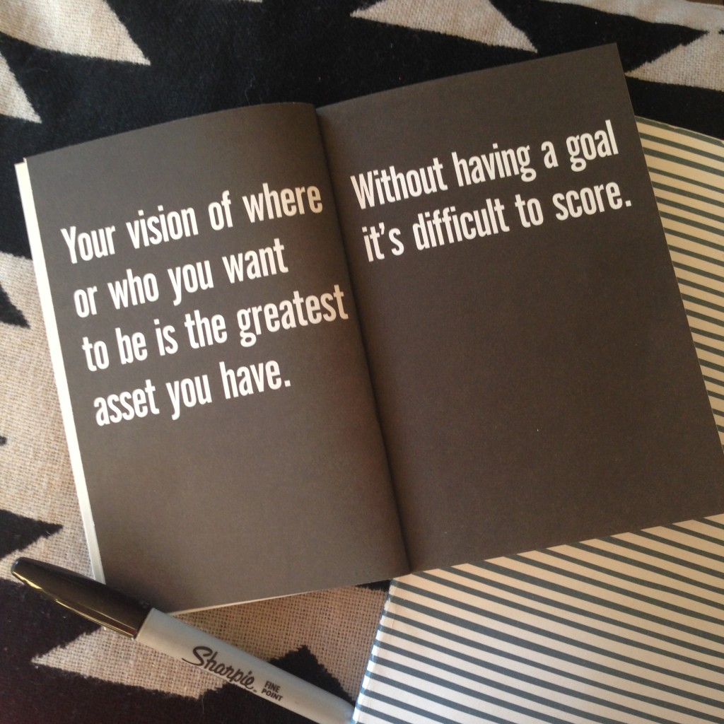 Without having a goal | Paul Arden | lizniland.com