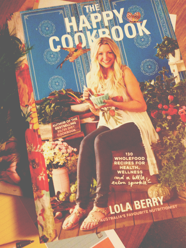 The Happy Cookbook by Lola Berry | lizniland.com