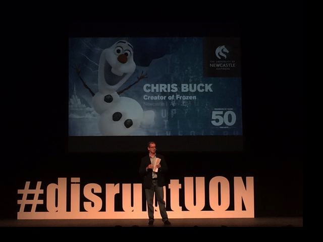 Frozen creator Chris Buck | lizniland.com