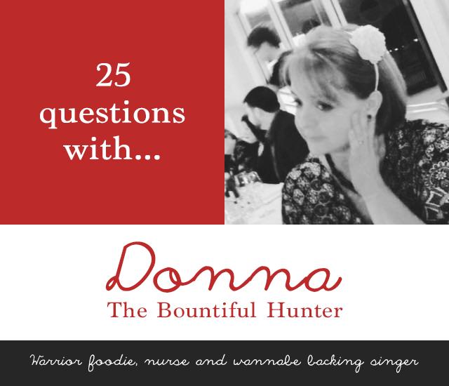 Donna, The Bountiful Hunter | 25 questions | lizniland.com