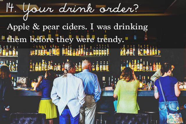 Cool ciders | 25 questions | lizniland.com
